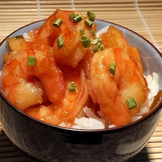 Happy Fortune Orange Marmalade Shrimp