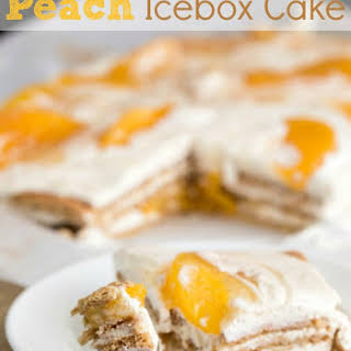 Peach Icebox Cake.