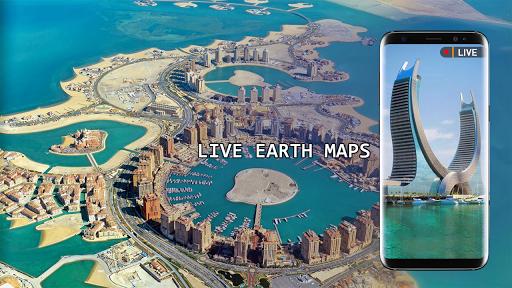 Live Earth Map 2020 -Satellite & Street View Map 2.1 screenshots 5