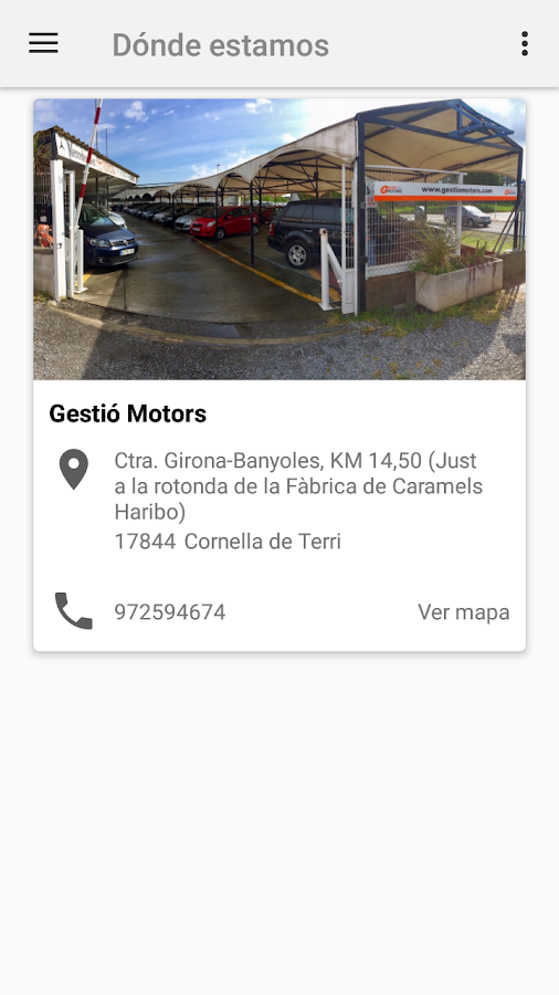 Gestió Motors- screenshot