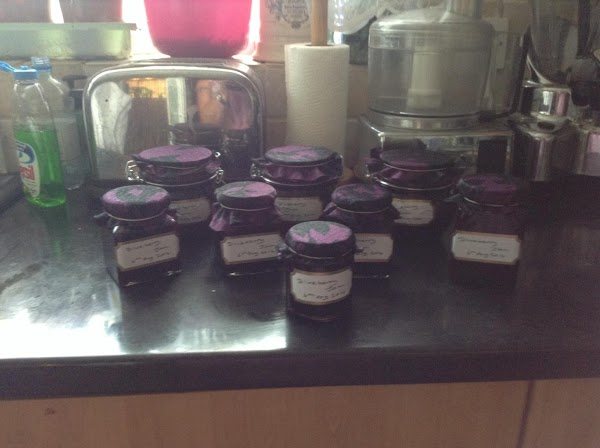 Blueberry And Vanila Jam Recipe