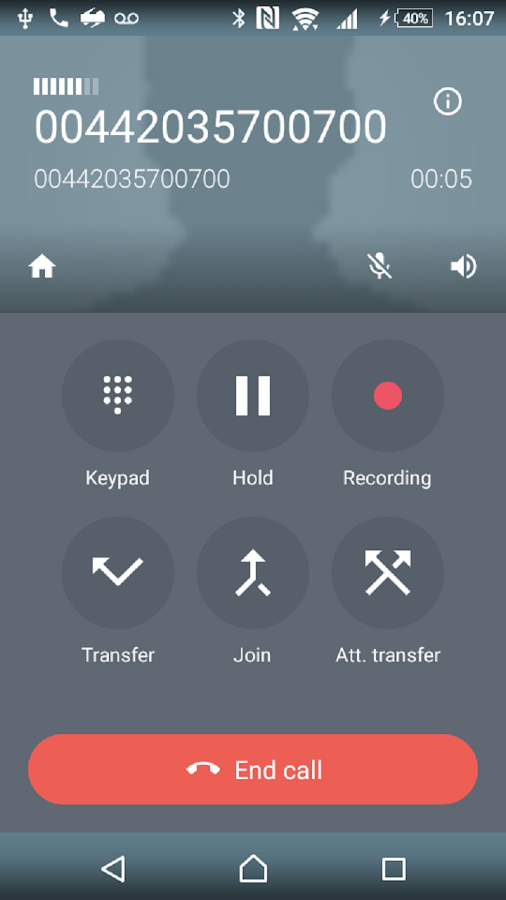 simplecall - Low cost call- screenshot