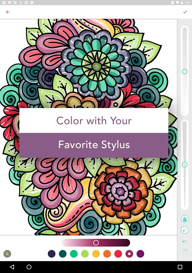 Pigment - Coloring Book- screenshot