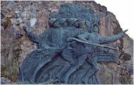 Photo: Hartmannswillerkop o Vieil-Armand. Monumento a los Diablos Rojos  Los Vosgos   Alsacia ( Francia) http://www.viajesenfamilia.it/Alsacia.htm