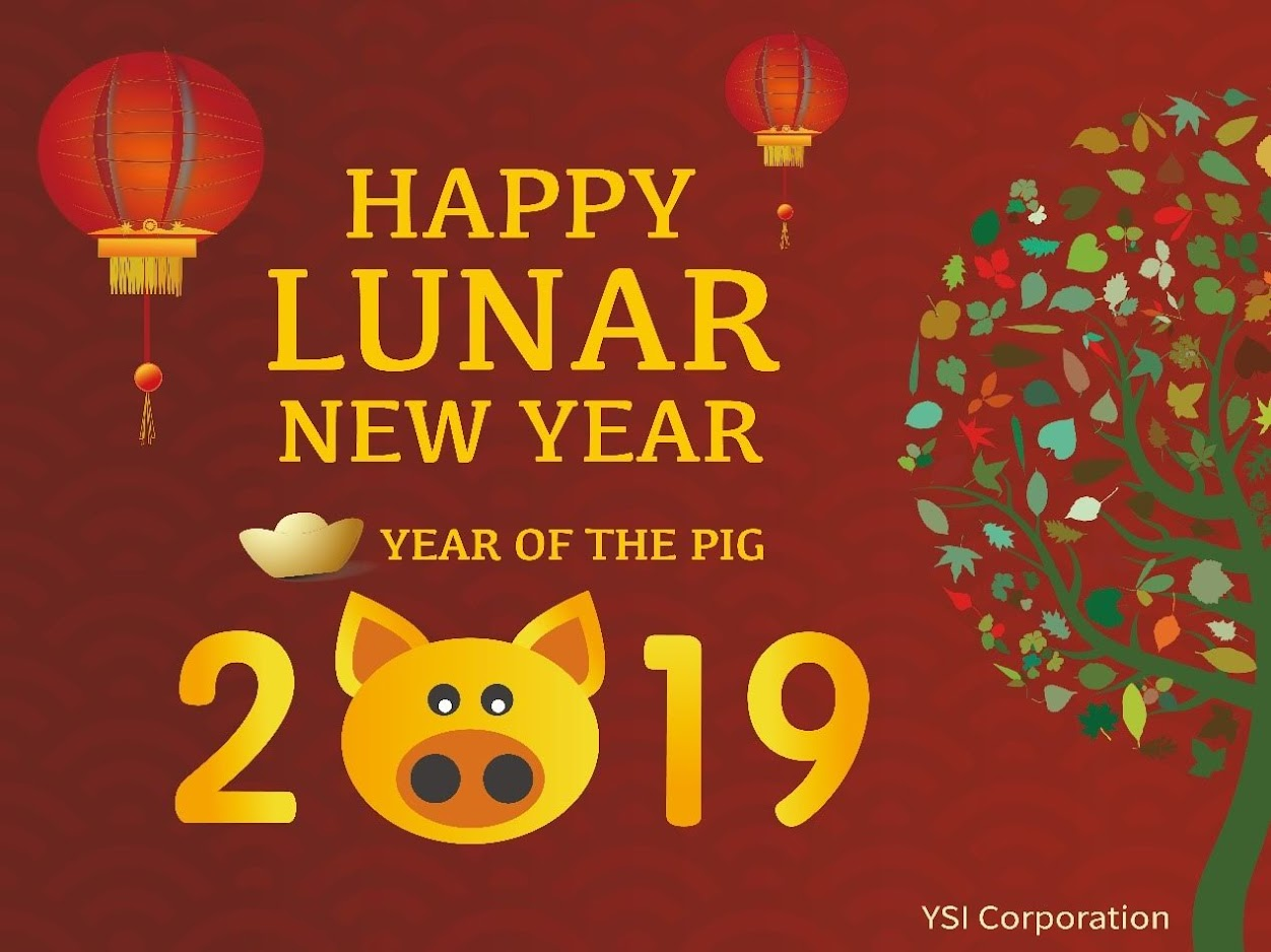 Rich blessings for Lunar New Year 2019
