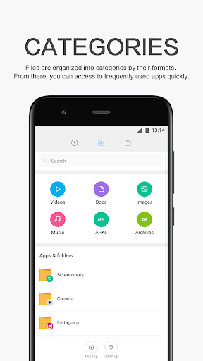 Mi Explorer app (apk) free download for Android/PC/Windows screenshot