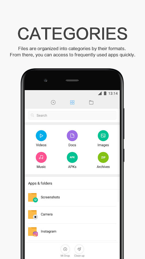 Mi File Manager - File Management and Transfer- screenshot