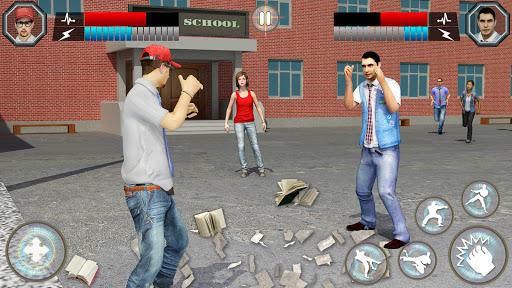 High School Bully Gangster: Karate Fighting Games apktreat screenshots 2
