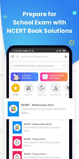 NCERT Solutions CBSE 8-12 IIT JEE NEET Doubts App screenshot 5