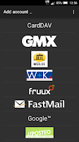 Screenshot of CardDAV-Sync free
