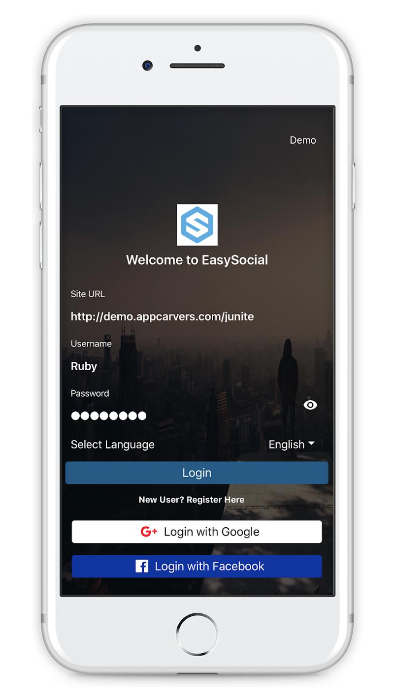 Скриншот EasySocial for Joomla