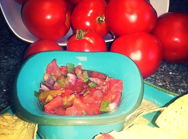 Nothing like fresh salsa!!!