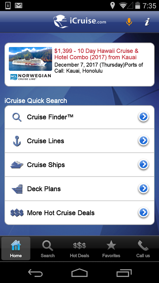 Cruise Finder Icruise Com Android Apps On Google Play