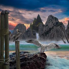 by Bruce Cramer - Digital Art Animals (  )