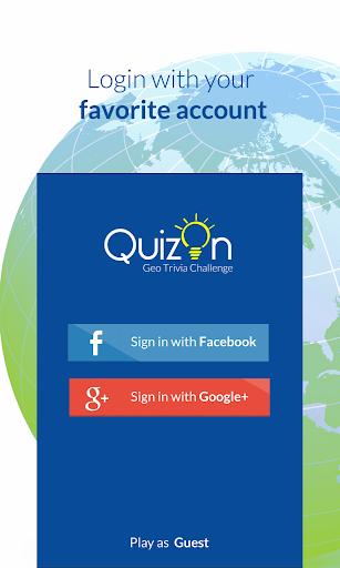 QuizOn - Geo Trivia
