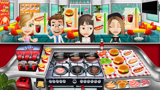 how to change restaurants on world kitchen fever cooking app