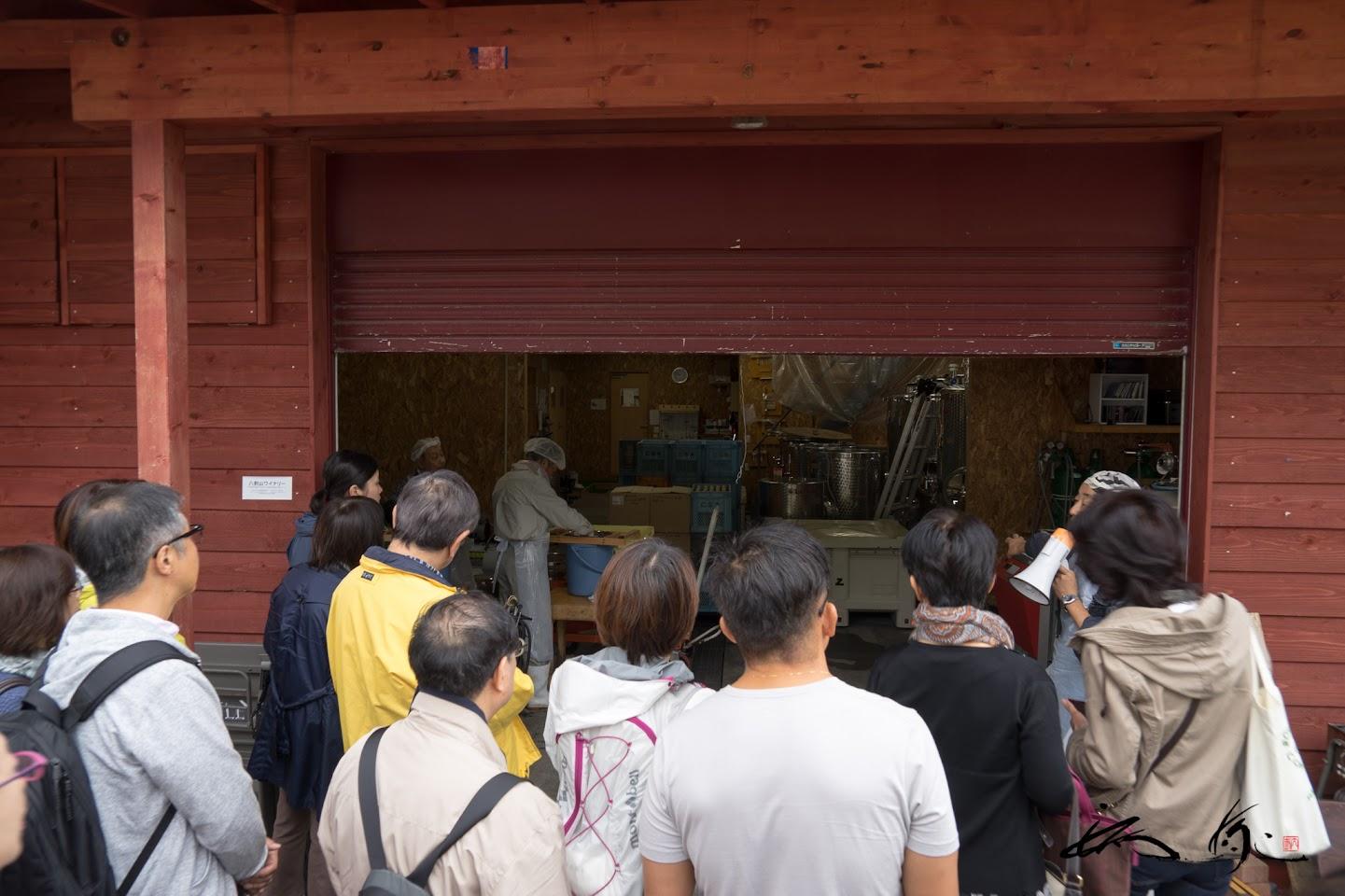 シードル製造工場の見学
