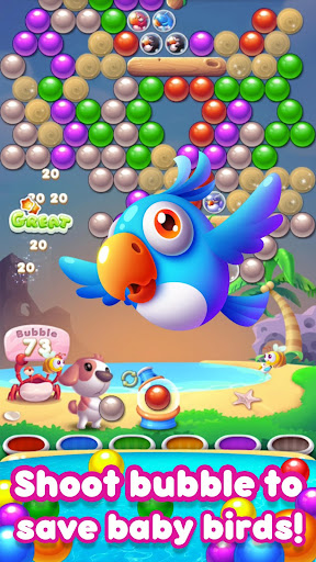 Bubble Bird rescue 2019:  bubble shooter blast  APK MOD (Astuce) screenshots 2