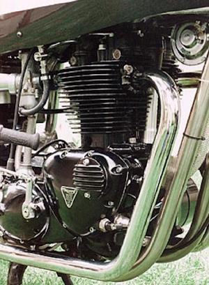 Moteur Triumph Weslake