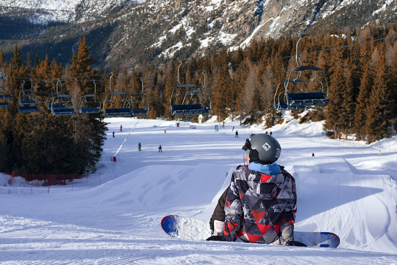 Lo snowboarder di Roberto Simonazzi