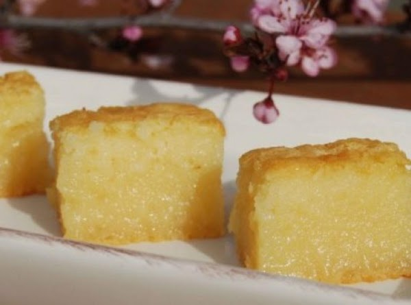 Butter Mochi - Japanese Sweet Chewy Dessert Recipe