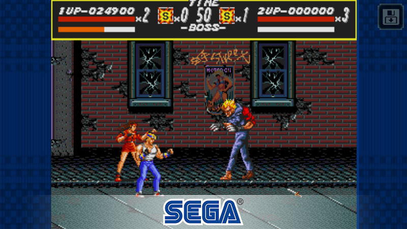 Streets of Rage Classic Screenshot 2