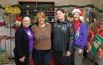 Photo: Joanne, Denise, Kat & Gwen