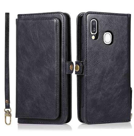 Samsung Galaxy A40 - Robust Plånboksfodral Dubbelfunktion