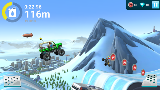 MMX Hill Dash 2u00a0: monster trucks, voitures & motos  captures d'u00e9cran 2