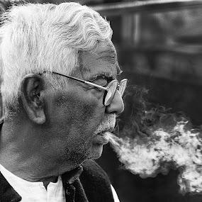 by Babu Mallick - People Portraits of Men