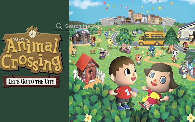 Animal Crossing Game Wallpapers Theme