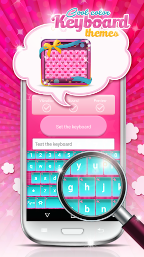 Cool Color Keyboard Themes