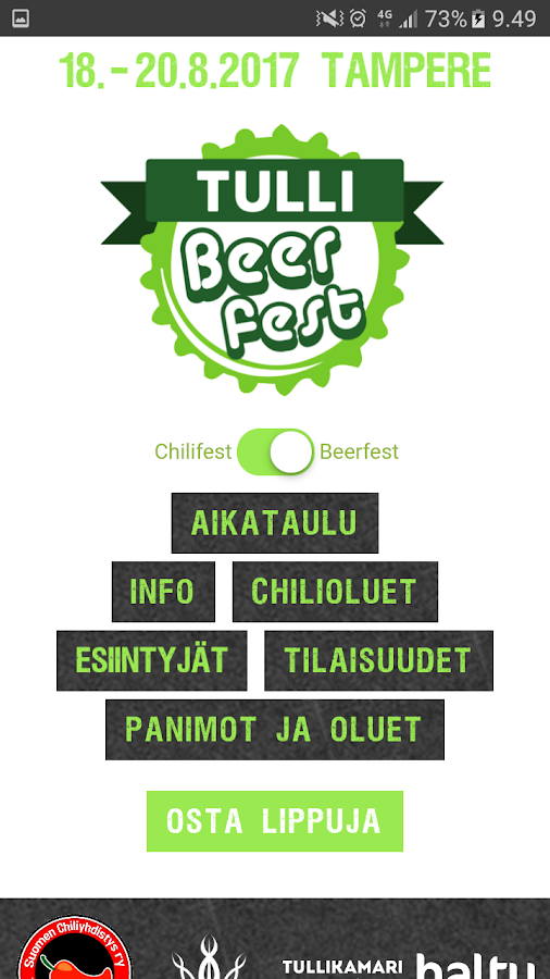 Chilifest Finland- screenshot