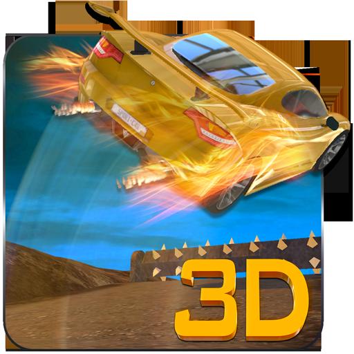 速い車のスタントドライバー3D 2015 模擬 App LOGO-硬是要APP