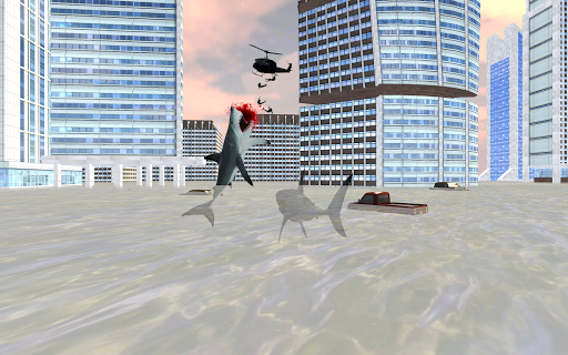 Shark City Attack : Shark Games 1.3 screenshots 2
