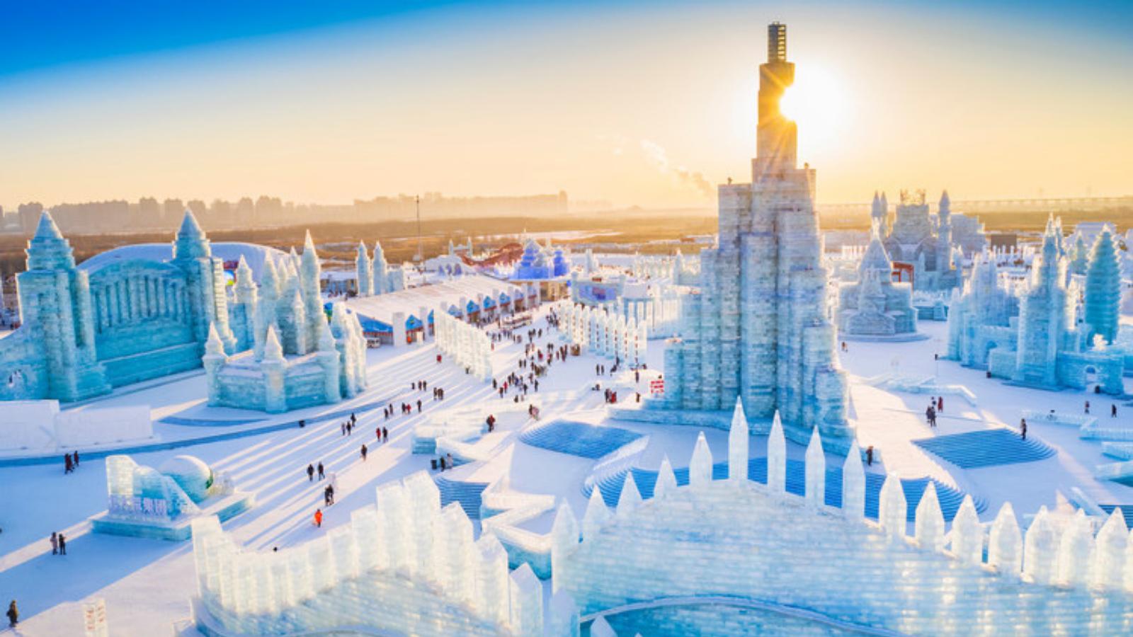 Lễ hội điêu khắc băng tuyết Cáp Nhĩ Tân, Trung Quốc