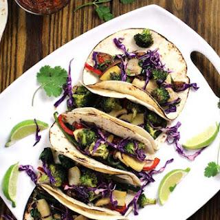 Loaded Veggie Fajita Taco