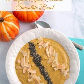 Pumpkin Spice Coconut Smoothie Bowl