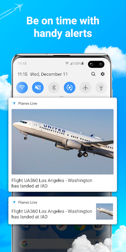 Planes Live - Flight Status Tracker & Radar screenshots 5