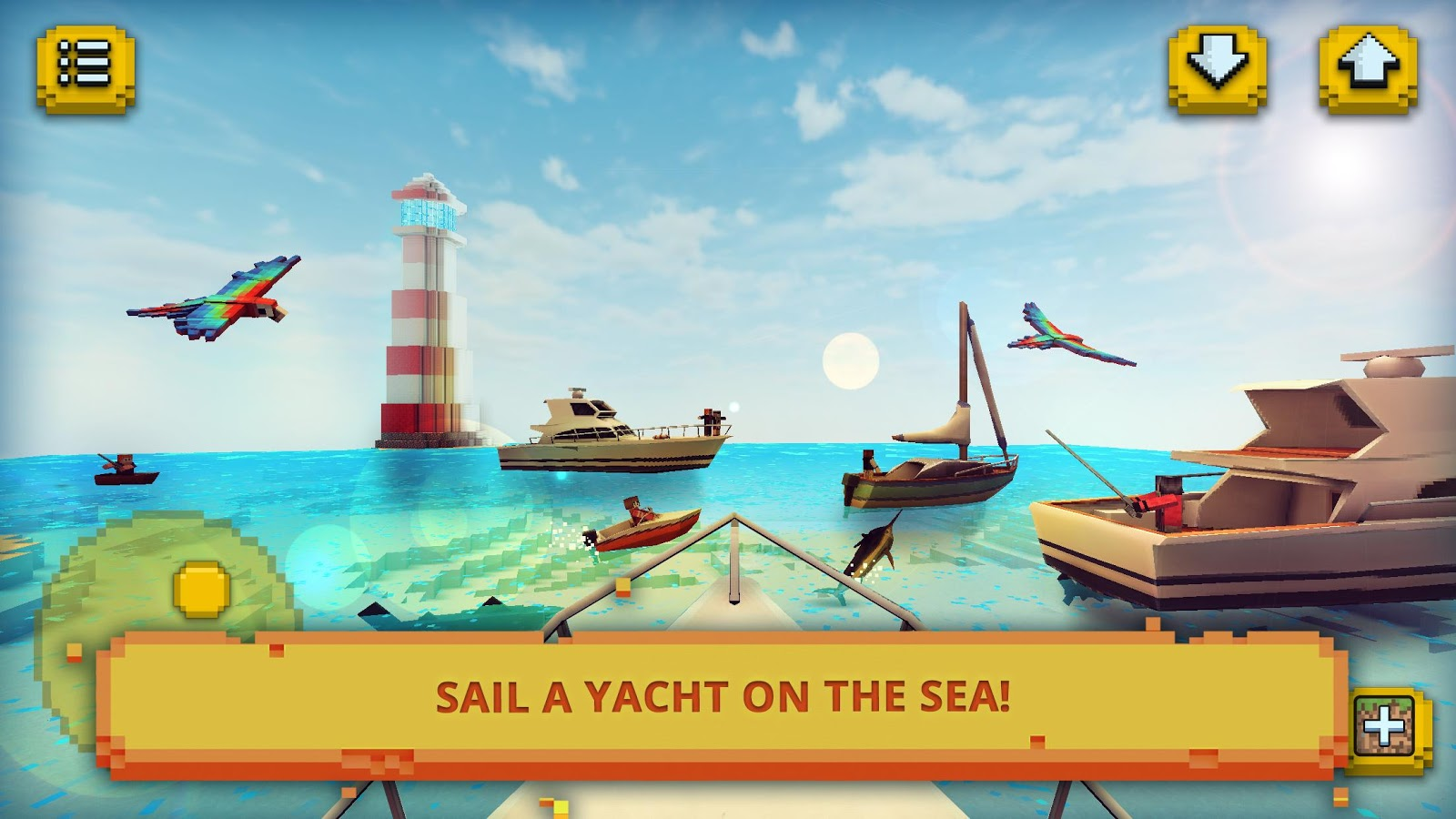 Eden island craft fishing crafting in paradise for Sea fishing games