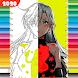 Coloring Game for Nanatsu no Taizai