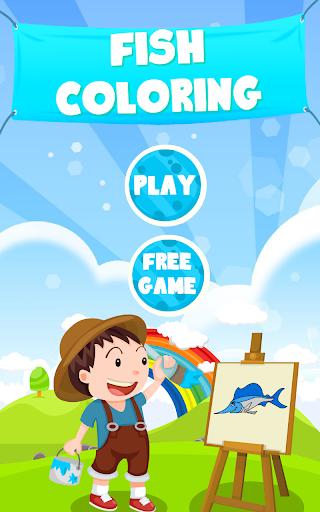 물고기 색칠|玩教育App免費|玩APPs