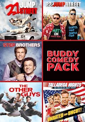 Buddy Comedy Pack (Jump Street / Step Brothers / Talladega Nights / The Other Guys)