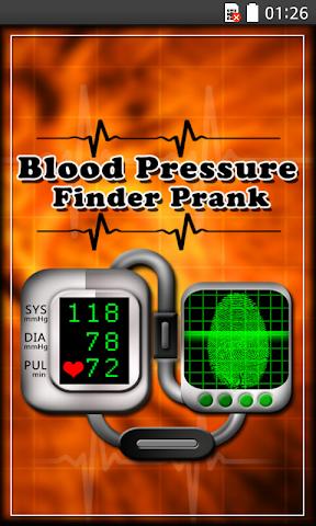 android Blood Pressure Finder Prank Screenshot 0