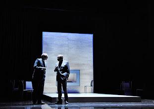 """Photo: WIEN/ Theater in der Josefstadt: """"VOR SONNENUNTERGANG"""" von Gerhard Hauptmann. Premiere 3.9.2015. Andre Pohl, Siegfried Walther. Copyright: Barbara Zeininger"""