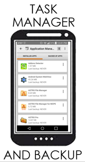 ASTRO File Manager- screenshot