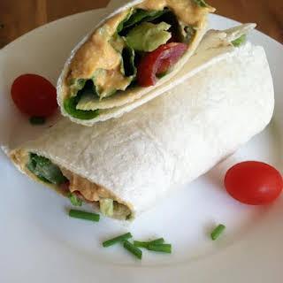 Healthy Light Vegan Roll-Up.