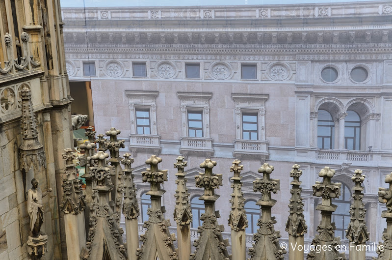 Duomo, terrasses
