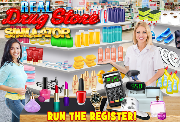 Drugstore Credit Card Cashier- screenshot thumbnail