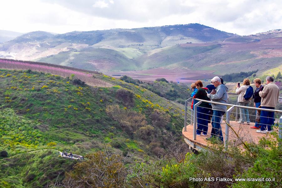 Экскурсия по Верхней Галилее в национальном парке Ручей Аюн.